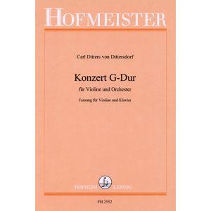 Carl Ditters von Dittersdorf: Konzert G-Dur/ KlA.