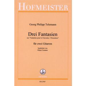 Georg Philipp Telemann: 3 Fantasien