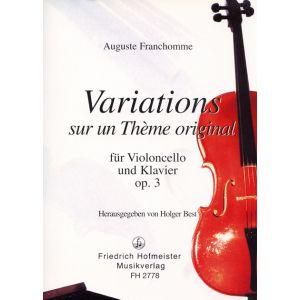 Auguste Franchomme: Variations F-Dur, op. 3