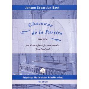 Johann Sebastian Bach: Chaconne de la Partita, BWV 1004