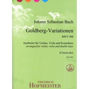 Johann Sebastian Bach: Goldberg-Variationen, BWV 988