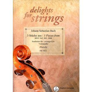 Johann Sebastian Bach: 3 Stücke aus BWV 565, 903, 1004
