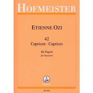 Etienne Ozi: 42 Capricen