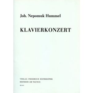 Johann Nepomuk Hummel: Klavierkonzert A-Dur / KlA.