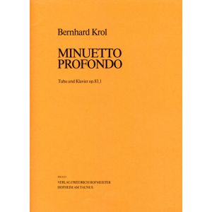 Bernhard Krol: Minuetto profondo, op. 83,1