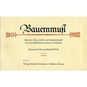 Raimund Zoder / Rudolf Preiß:  Bauernmusi (2. Stimme) (2. Folge)