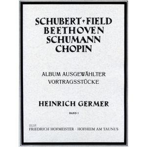 Album ausgewählter Vortragsstücke, Heft 1 (Germer)