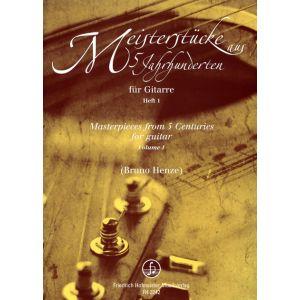 Meisterstücke aus 5 Jahrhunderten, Heft 1 / Masterpieces from 5 Centuries, Volume 1