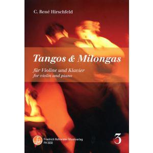 C. René Hirschfeld: Tangos & Milongas, Vol. 3