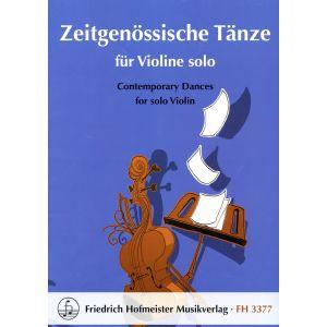 Zeitgenössische Tänze für Violine solo