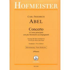 Concerto à Cornu principale con piu Stromenti accompagnanti