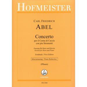 Concerto per il Cornu di Caccia con piu Stromenti