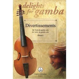 Divertissements für Viola da gamba solo, Vol. 1