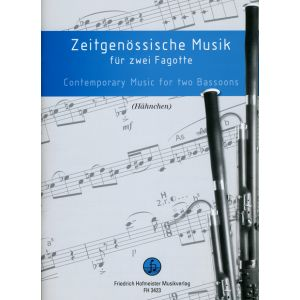 Zeitgenössische Musik für zwei Fagotte