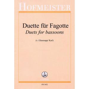 Duette für Fagotte