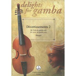 Divertissements für Viola da Gamba solo , Volume 2