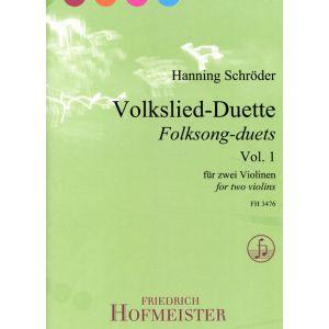 Volkslied-Duette, Vol.1