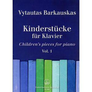 Kinderstücke für Klavier, Vol.1