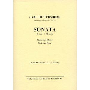 Carl Ditters von Dittersdorf: Sonata G-Dur