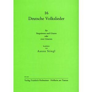 16 deutsche Volkslieder (Stingl)