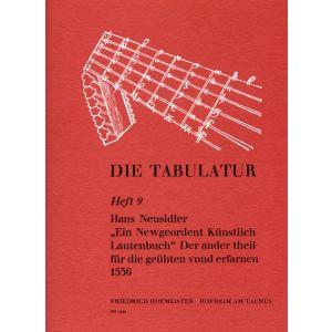 Hans Neusidler: Ein Newgeordent Künstlich Lautenbuch, 1536