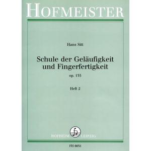 Hans Sitt: Schule der Geläufigkeit und Fingerfertigkeit, op. 135, Heft 2