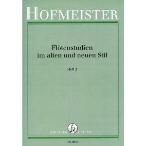 Flötenstudien im alten und neuen Stil, Heft 2
