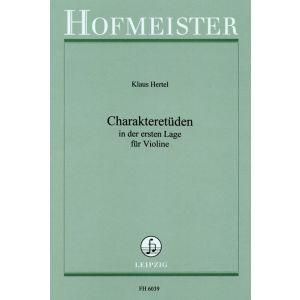 Klaus Hertel: Charakteretüden in der 1. Lage