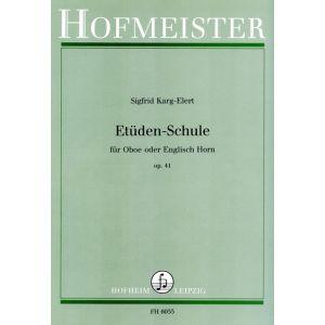 Sigfrid Karg-Elert: Etüden-Schule, op. 41