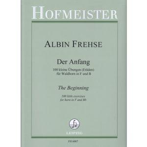 Albin Frehse: Der Anfang