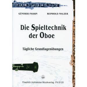 Günther Passin / Reinhold Malzer: Die Spieltechnik der Oboe