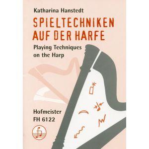 Katharina Hanstedt: Spieltechniken auf der Harfe