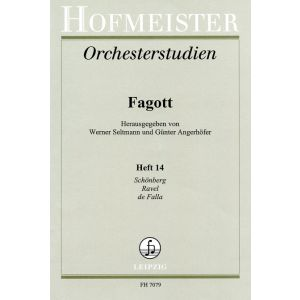 Orchesterstudien für Fagott, Heft 14