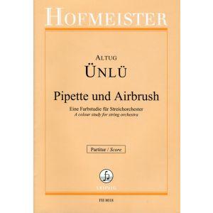Pipette und Airbrush / Partitur