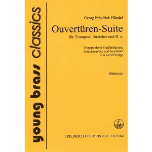 Georg Friedrich Händel: Ouvertüren-Suite / Stimmen