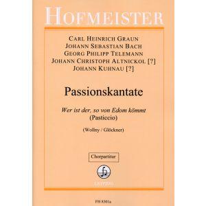 Passionskantate (Pasticcio) / Chorpartitur