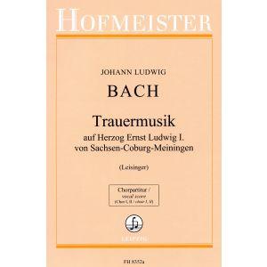 Trauermusik auf Herzog Ernst Ludwig I. von Sachsen-Coburg-Meiningen / Chorpartitur